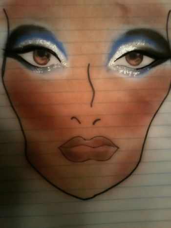 Makeup look Makeup Dallas Cowboys