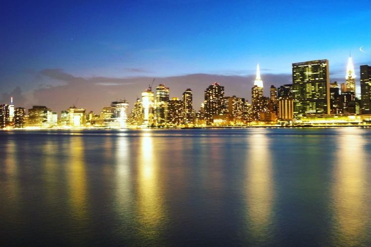 NYC Skyline Canonphotography Photography Photoshoot Photographer Canon Long Exposure New York City Cityscape Manhattan Landscape Reflection NYC Photography Colour Of Life Sky Taking Photos Check This Out ArtWork
