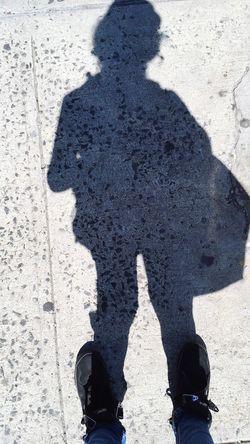 Me and my shadow. Shadow Lifestyles NYC Street Photography Bronx New York  NYC LIFE ♥
