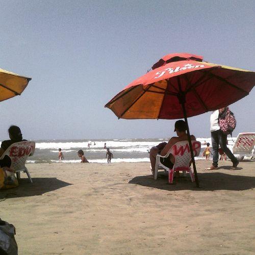 Sol; playa y arena