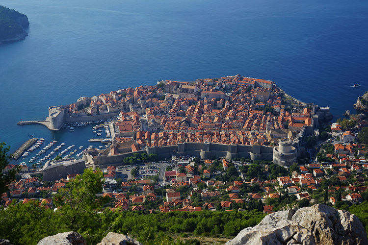 Croatia Dubrovnik Architecture City Wall Building Exterior City Historic Site Travel Photography Travel Destinations Old Town
