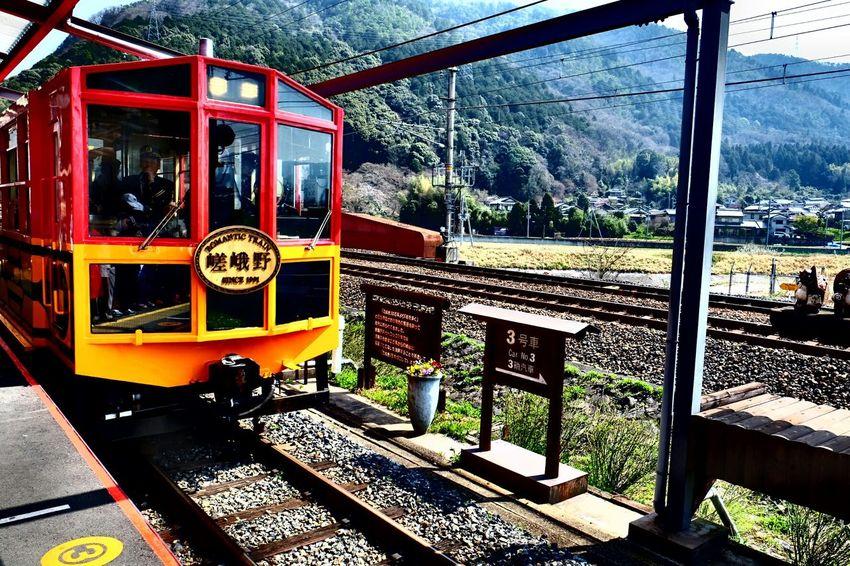NextStation Kyoto,japan Kameoka Train Red Objective Light
