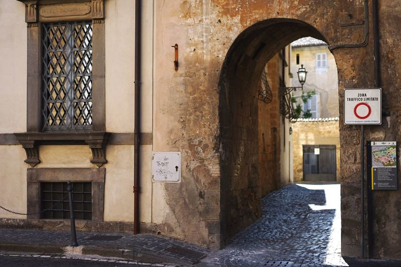 Old town Architecture Built Structure Building Building Exterior Arch Day No People Entrance Door Window Old Outdoors House Art And Craft Sunlight Wall - Building Feature Sign