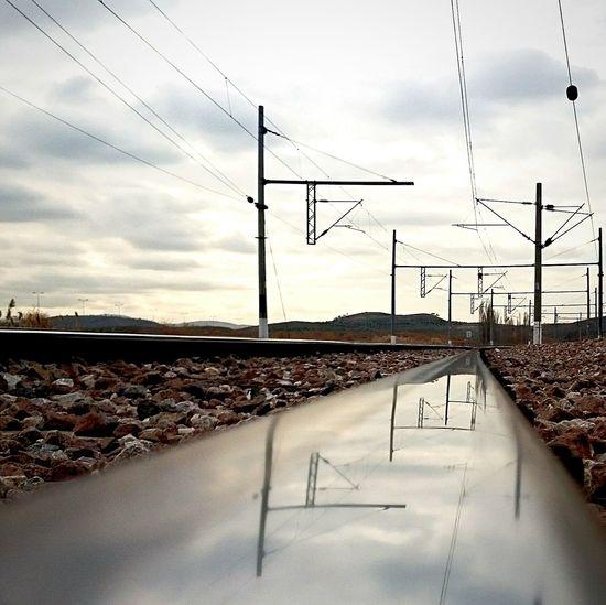 Yht Trenyolu Ankara Railway Railroad Ironway Tren Ayak Izi Escaping