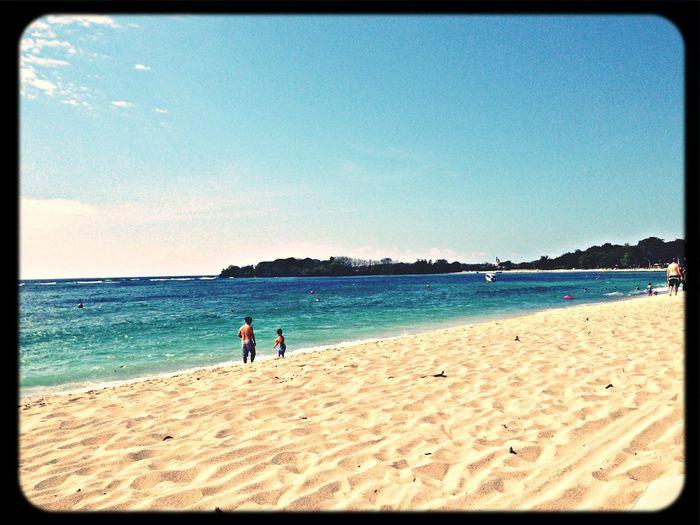 Throwback Bali Beach