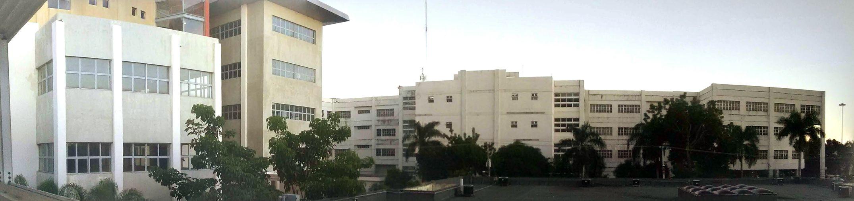 Vista panoramica parcial de algunos edificios de la Ciudad Universitaria ,Univesidad Autónoma de Santo Domingo,UASD.PRIMERA UNIVERSIDAD DE AMERICA,