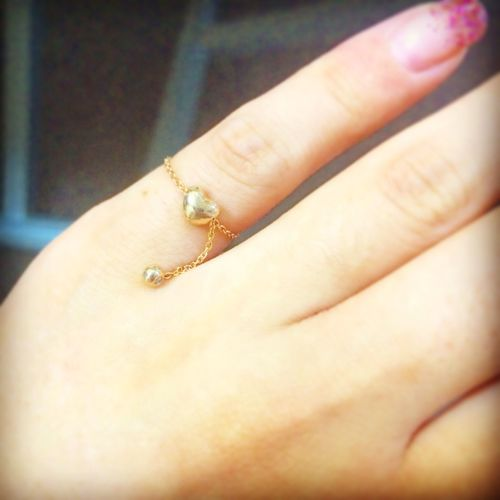 thank you my special friend❤️ New Ring Pinky Ring Enjoying Life