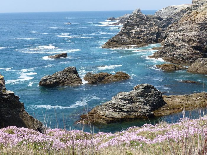 Sea Water Rock Beauty In Nature Rock - Object Solid Land