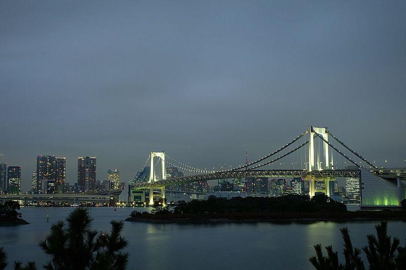 Rainbow Bridge-Tokyo Bridgeporn Bridge Tokyo EyeEm Best Shots - Long Exposure Nightphotography Japan Japan Photography Creative Light And Shadow Pmg_tok