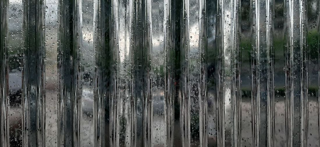 Corrugated Iron Backgrounds Full Frame Textured  Pattern Wood - Material Abstract Close-up Weathered Corrugated Sheet Metal Iron Seamless Pattern Brushed Metal Diamond Shaped Wood Grain Paint Knotted Wood Peeling Off Chiang Mai Alloy Wooden Dripping Water Drop Droplet Deterioration