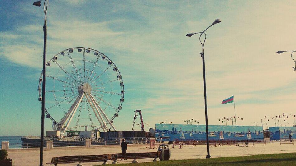 Carousel Baku Azerbaijan Bulvar