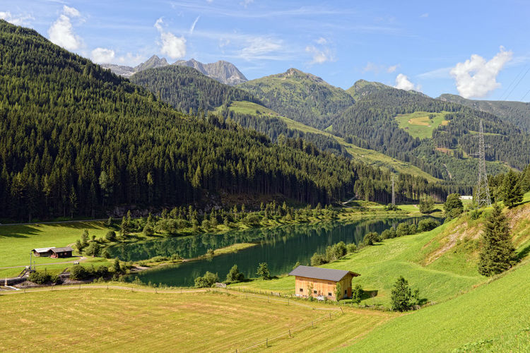 Alps Day European Alps Forest Gerlos Gerlospass Gerlosstein Grass Green Color Hiking Landscape Mountain Mountain Range Nature Outdoors Travel Destinations Zillertal Zillertal Alps