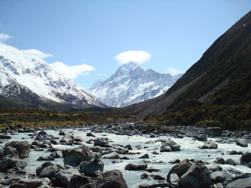 Adventure Beauty In Nature Day Geology Hill Landscape Lush Foliage Majestic Mount Cook Mountain Mountain Range Nature New Zealand New Zealand Beauty New Zealand Natural New Zealand Scenery Non-urban Scene Physical Geography Remote Scenics Somewhere In New Zealand South Island Tranquil Scene Tranquility Valley