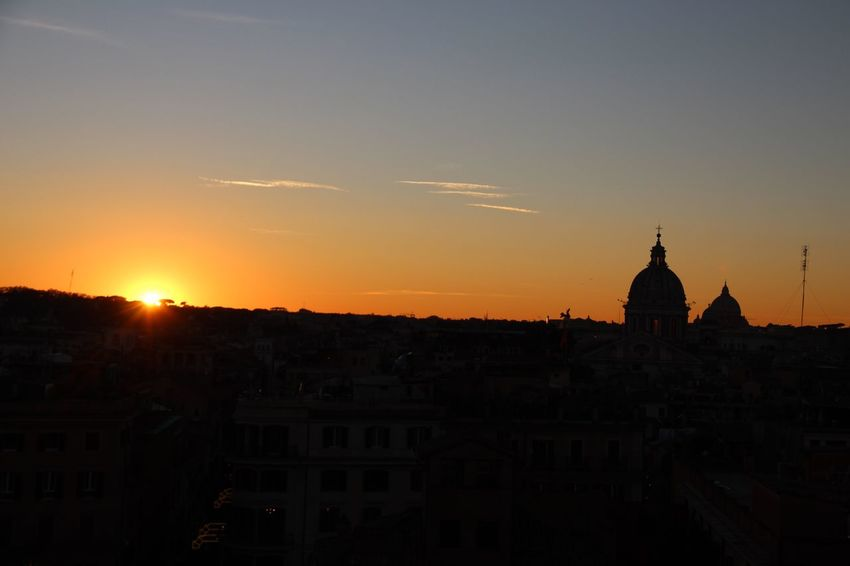 EyeEmNewHere Spanish Steps Italy Rome Sunset Silhouette