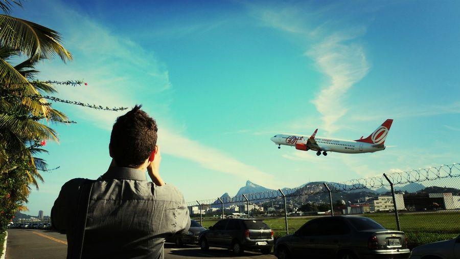 Plane Spotting SDU Airport Aeroporto Santos Dumont Aircraft