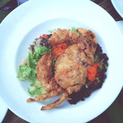 soft crab salad Food Salad Crab