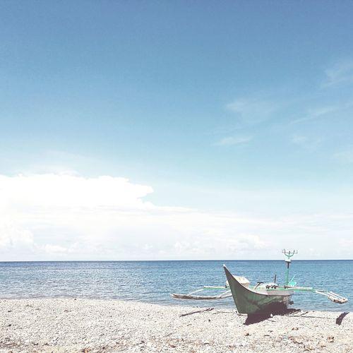 Row your boat called life. Sea Sky Horizon Over Water Beach First Eyeem Photo