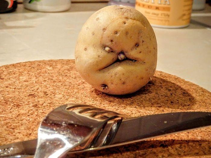 Happy sunday dear Eyeem frinds! Funny Funny Faces Potato Potatohead Funny Food Foodporn Krumpli Eyeem Hungary Funny Pics
