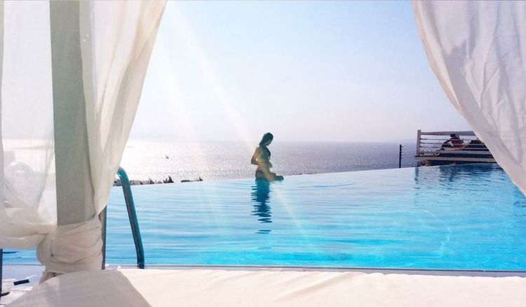 Mykonos Cyclades Greece Luxury Infinity Pool