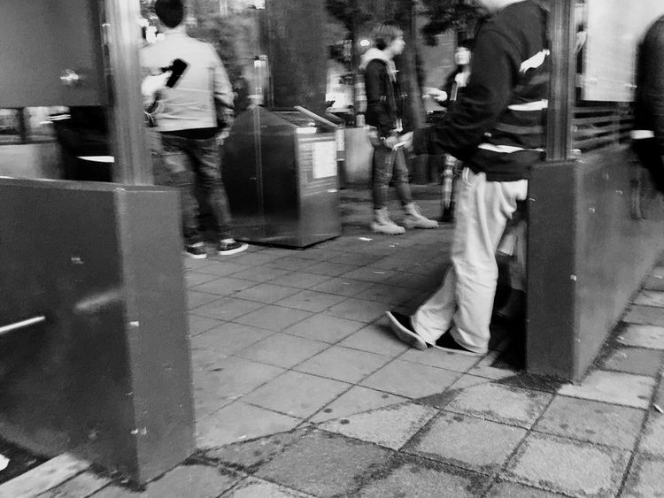 Showing Imperfection Blurred Motion Smoke Smoker Smoking Girls Smoking Hookah Smoking Area  Blackandwhite Photography in Ikebukuro Tokyo,Japan Tokyo Street Photography