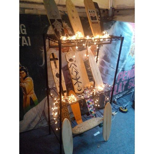 ElBalasyk Cruiseandpose Display Art Cruiser Board @Indie Clothing Expo 6th