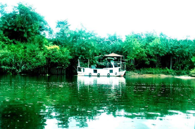 Nautical Vessel Water Reflection Transportation Tree Lake Beauty In Nature first eyeem photo