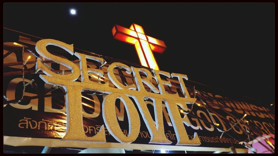 Secret Love at Kingdom of god Church Happy Valentine's Day