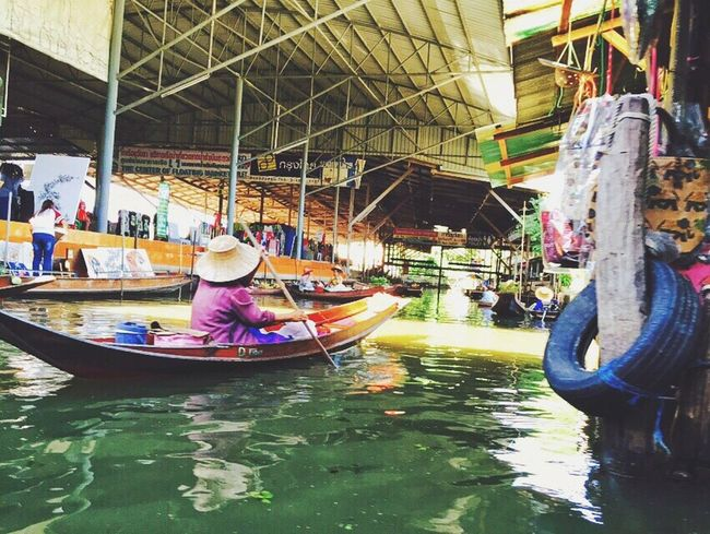 Real People Nautical Vessel Water One Person Outdoors Working Market Variation Day Travel Destinations Thailand Nature Storyformylife