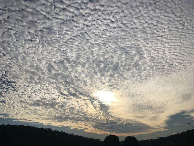 Céu lindo, para um fim de tarde