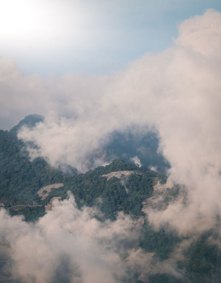 Taiwan Beauty In Nature Cloud - Sky Cloudscape Day Environment Fog Go Higher High Angle View Landscape Mountain Nature No People Non-urban Scene Outdoors Scenics - Nature Sky Tranquil Scene Tranquility Go Higher