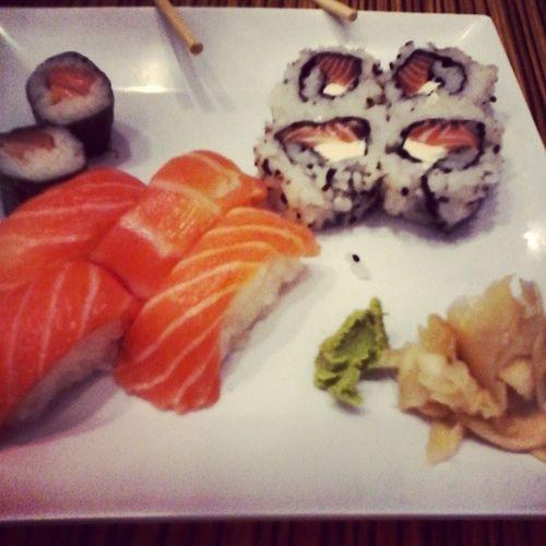 Sushi com mamãe Sushi Xuxi
