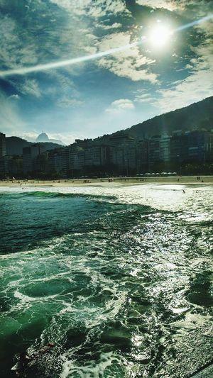 LeMe Rio De Janeiro Praia Beach Photography Sunrise Sol First Eyeem Photo