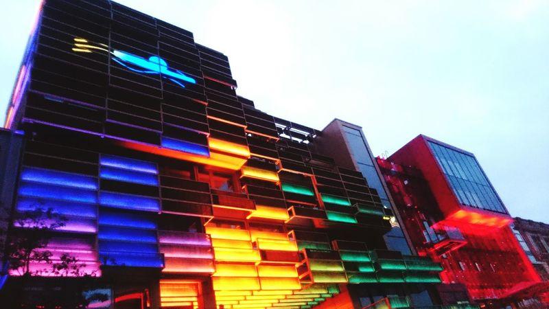 Colour Of Life Hamburg Reeperbahn Neon Lights Kiez Life St. Pauli Hamburg City Building Lights My Year My View