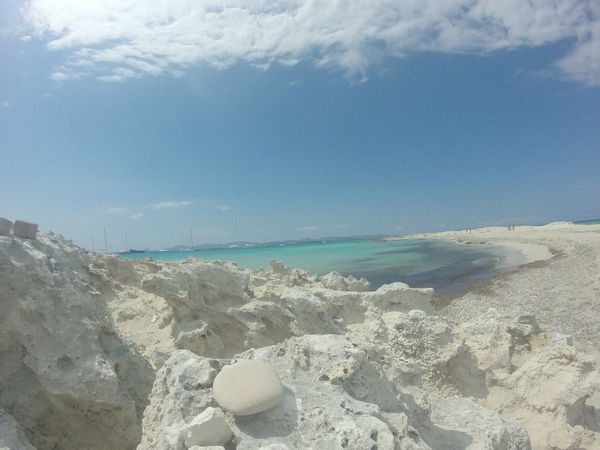 Perfect place Beach Beauty In Nature Day Formentera Island Horizon Over Water Nature No People Outdoors Perfection Sand Sea Sky Tranquil Scene Tranquility Water