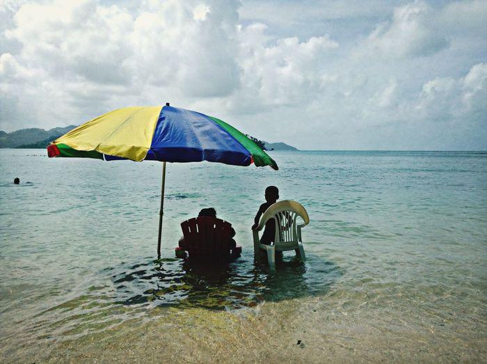 Playa, brisa y mar Enjoying Life Panamá Colors Paradise