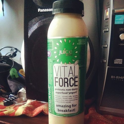 Breakfast Vitalforce from @juicepress