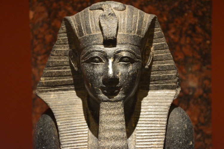 Ancient Art & Craft Egypt Pharaohs Religion And Tradition Statue Human Representation Old Pharahos Statue Religion