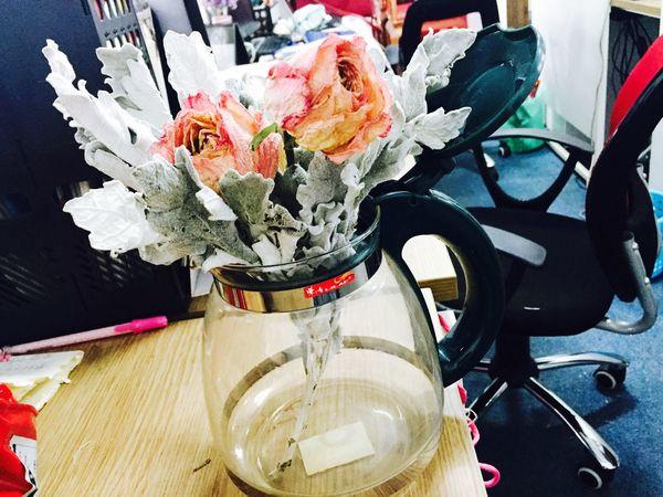 Teacup&flowers😂 一壶香花说乾坤 花