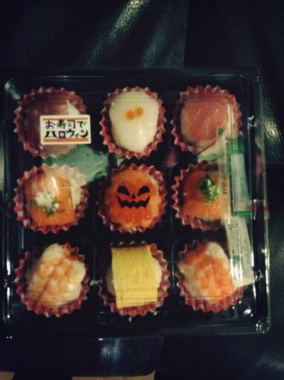 halloween sushi!! Food Japan