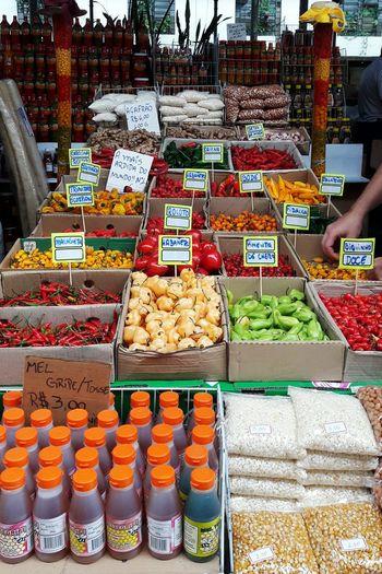 Hotter than youMercado Municipal De São Paulo Mercadão-SP Colorful Spices Of The World Peppers São Paulo, Brasil Market Street Explore