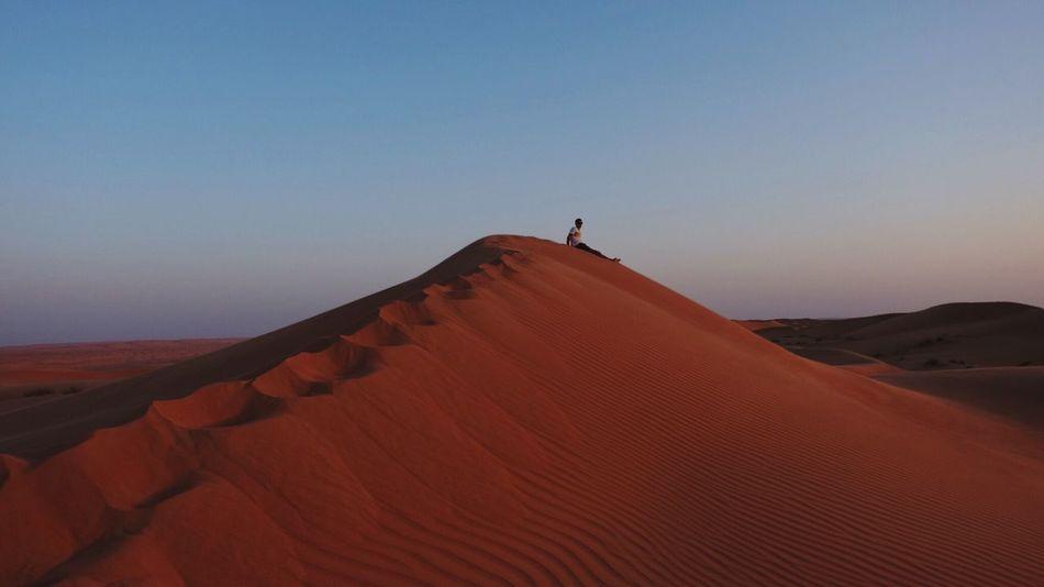 Red desert, Wahiba Sands, Oman Sand Dune Desert Nature Sand Scenics Oman Oman_photography Beauty In Nature Travel Destinations Travel
