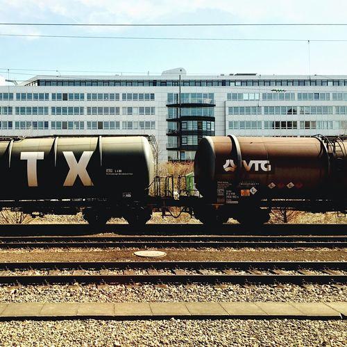 Railway Train Train Tracks