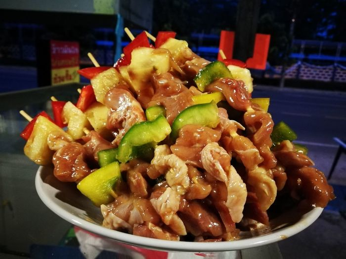 First Eyeem Photo Barbique Food Meat บาร์บิคิว อาหาร เนื้อย่าง