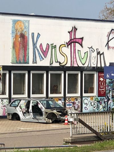 Kreativität Graffiti Architecture Built Structure Art And Craft Building Exterior No People Wall - Building Feature