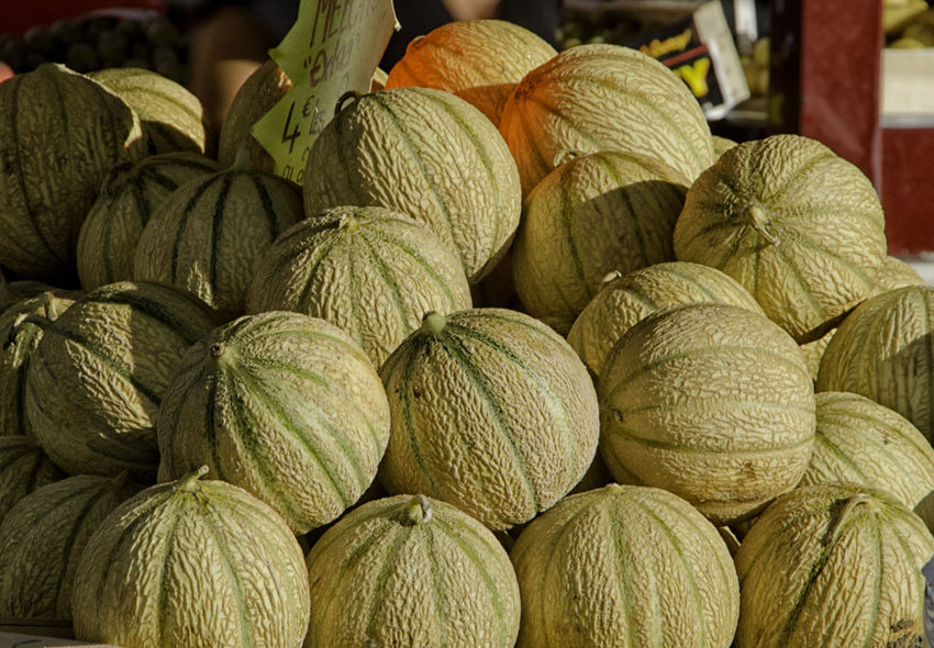 Close-up Day Food Food And Drink Freshness Fruit Healthy Eating Large Group Of Objects Market Melons No People Textured  Textures And Surfaces