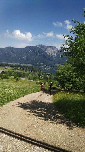 ab auf den Berg Hiking Trail Wandern Wanderweg Wanderlust Sommerzeit Spätfrühling Frühsommer