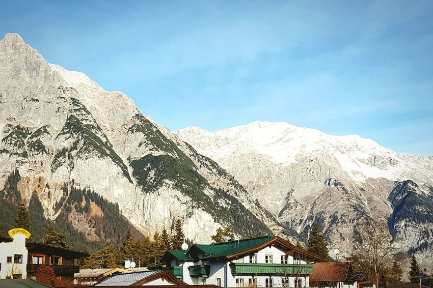 Mountain Winter Nature Sky Day Mountain Range Cold Temperature No People