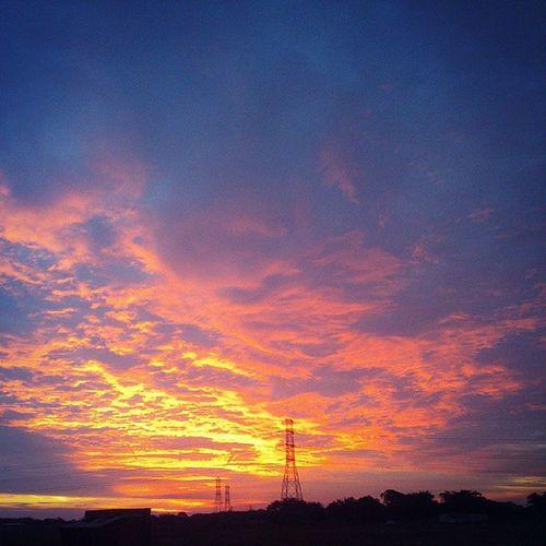 Sunset ?? Kampar View Sky Instagram instagrammer cloud sun Malaysia december 2014 asianlife asian