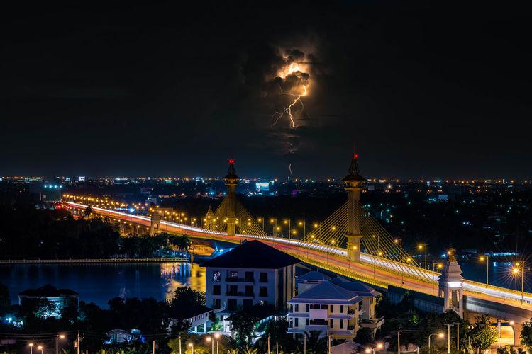 Sky Night City