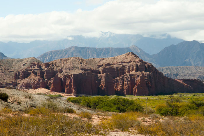 The Castle Rock Formation Rock Formation Salta  The Castle Argentina Beauty In Nature El Castillo Mountain Nature Rock - Object
